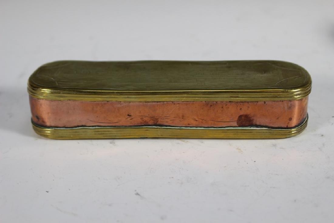 Two 19th Century DUTCH Tobacco Boxes - 6