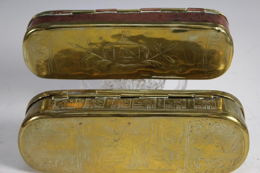 Two 19th Century DUTCH Tobacco Boxes - 7