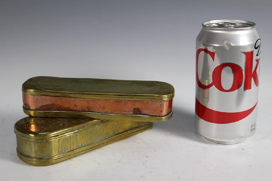 Two 19th Century DUTCH Tobacco Boxes - 8