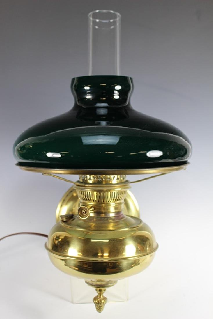 Green Cased Glass RAYO Wall Sconce or Lamp