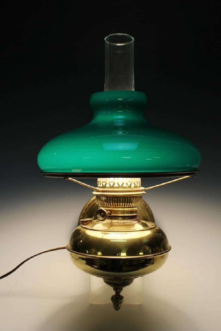 Green Cased Glass RAYO Wall Sconce or Lamp - 5