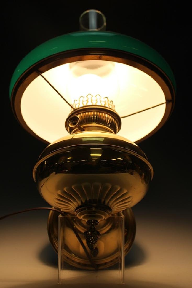Green Cased Glass RAYO Wall Sconce or Lamp - 6
