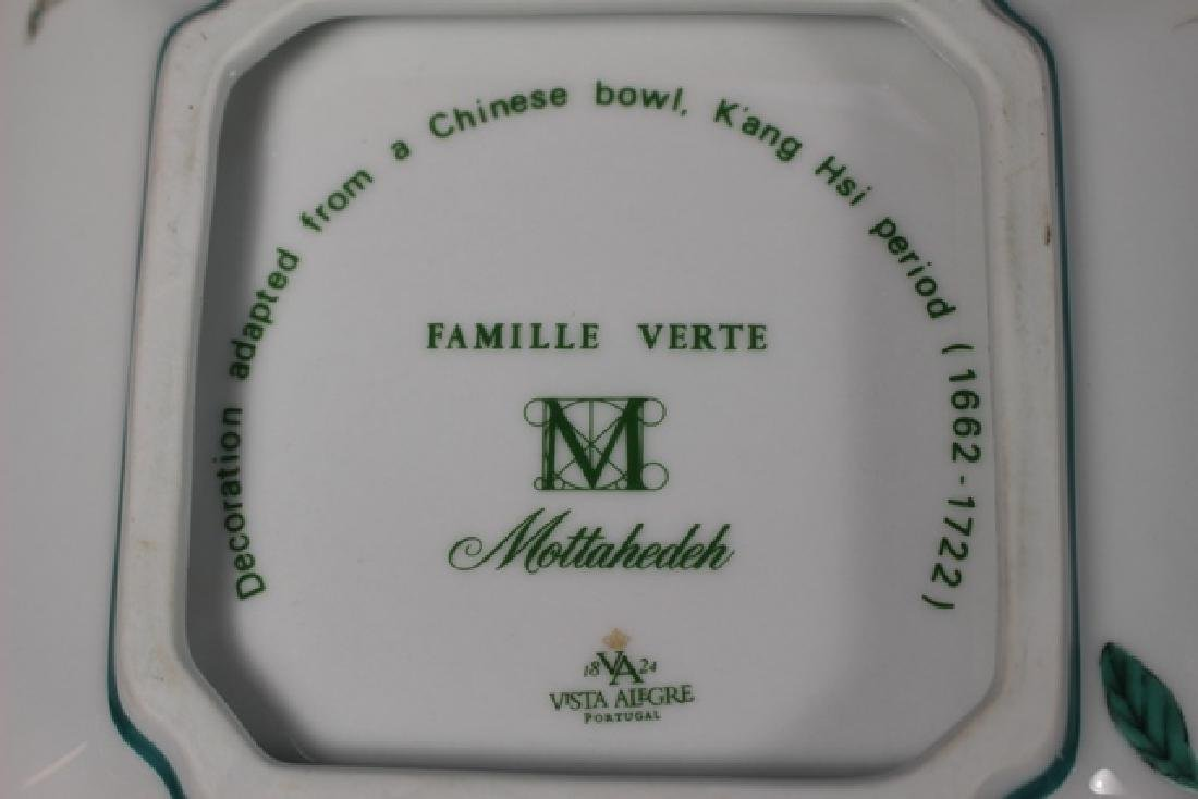 FAMILLE VERTE Mottahedeh Square Vegetable Bowls - 6