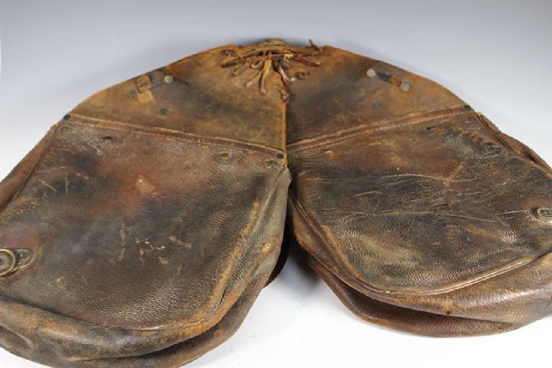 WWI US Leather Cavalry Saddle Bag - 5