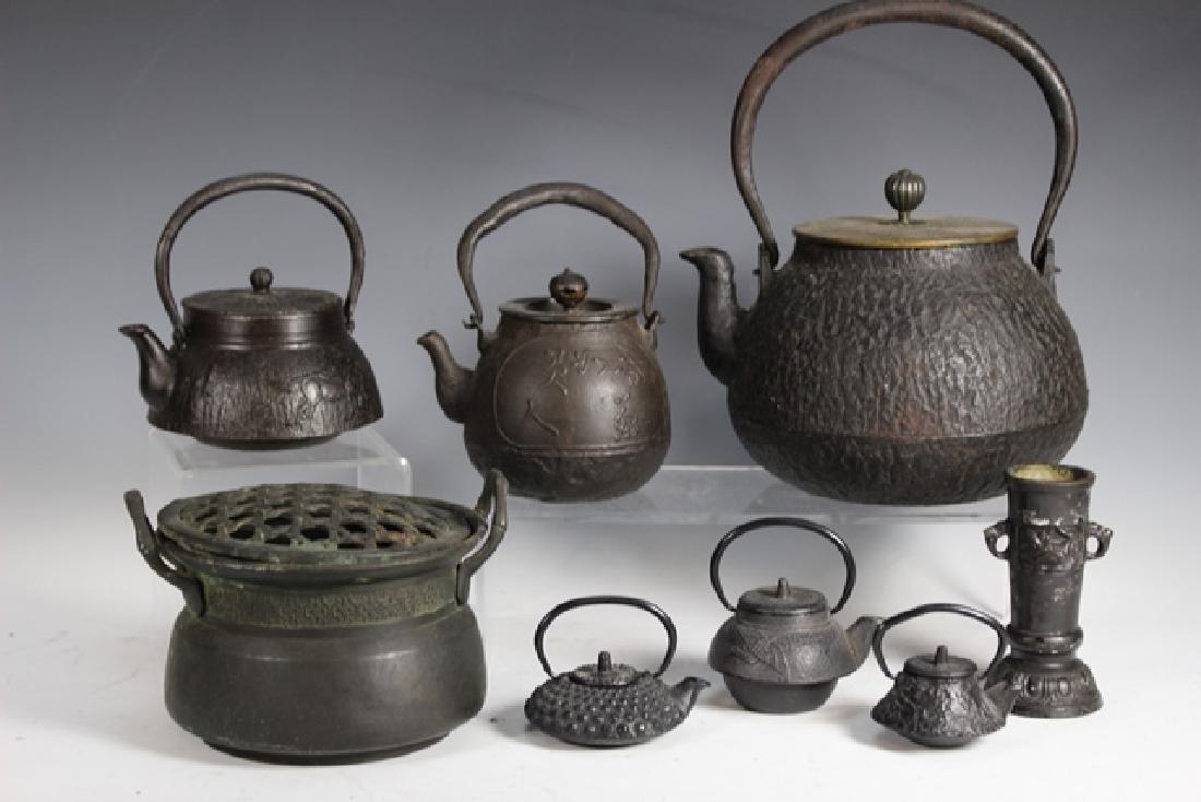 Japanese Cast Iron Tea Pots and Kettles