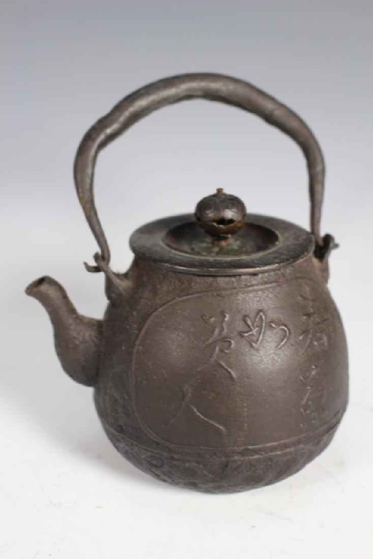 Japanese Cast Iron Tea Pots and Kettles - 6
