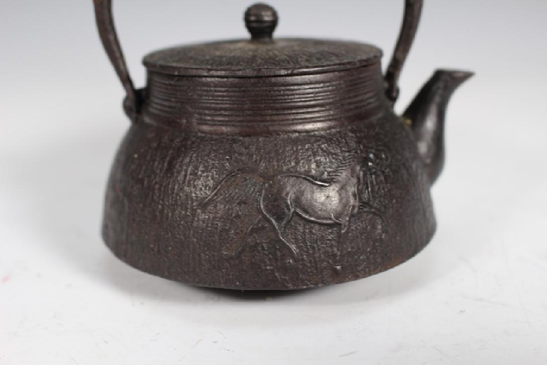 Japanese Cast Iron Tea Pots and Kettles - 7