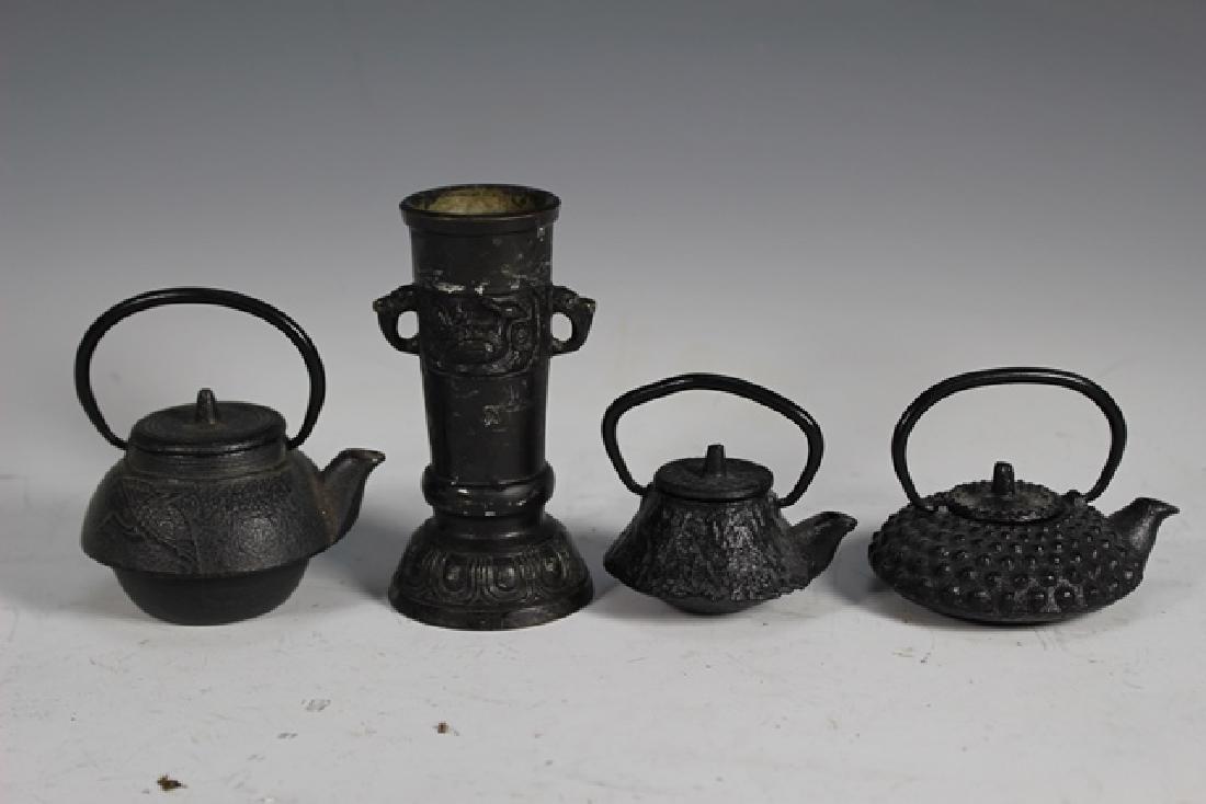 Japanese Cast Iron Tea Pots and Kettles - 9