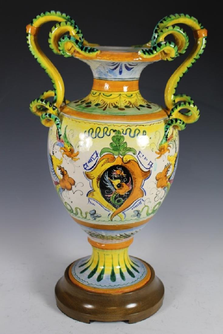 19th Century French Faience Vase - 5