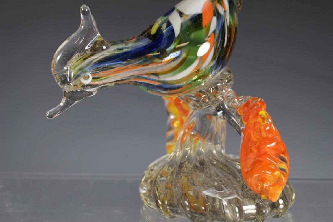 Murano Art Glass Road Runner - 2