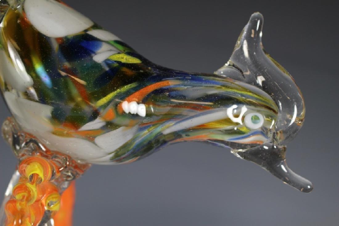 Murano Art Glass Road Runner - 4
