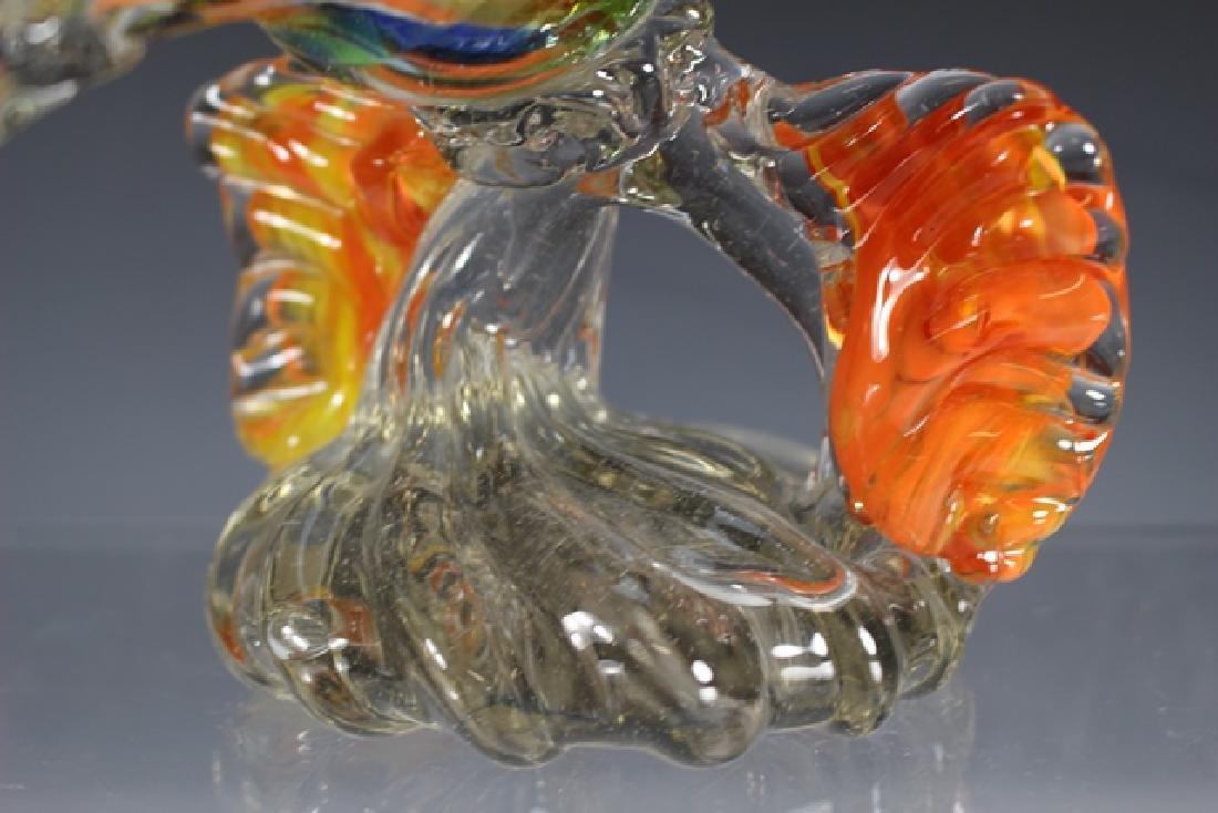 Murano Art Glass Road Runner - 6