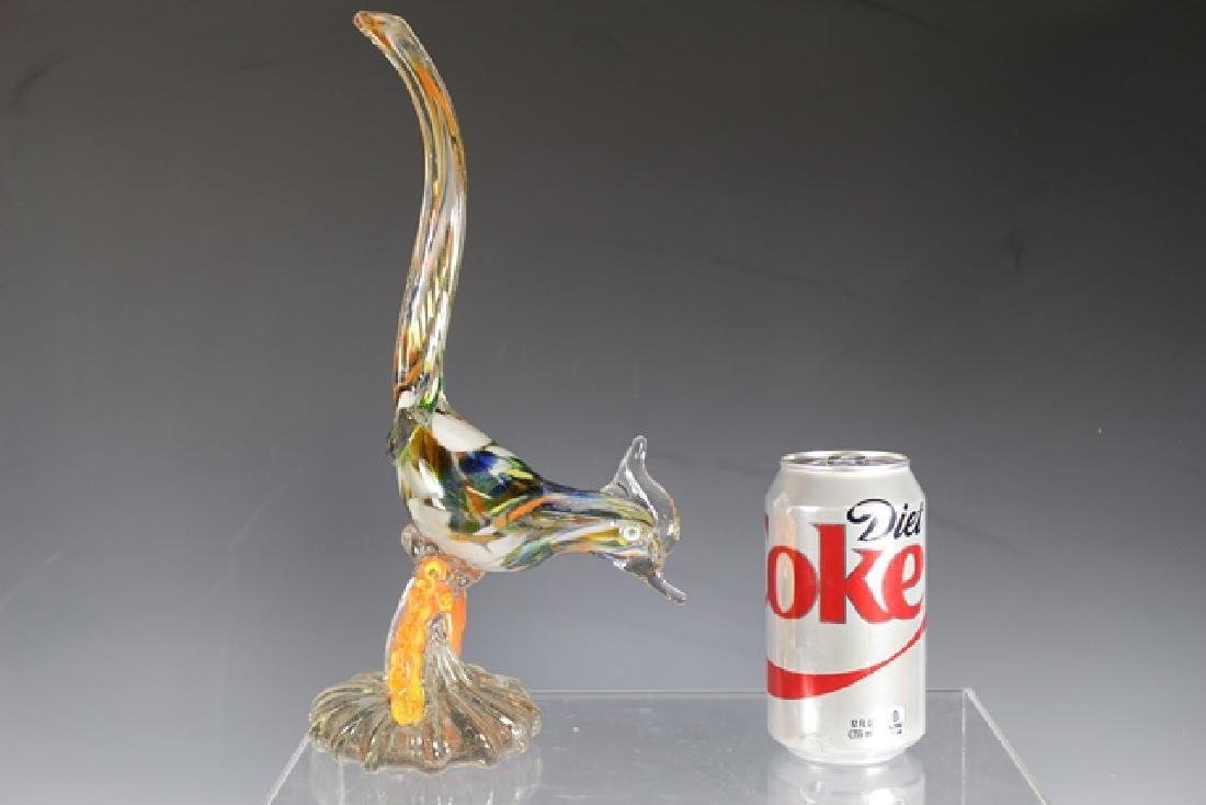 Murano Art Glass Road Runner - 7