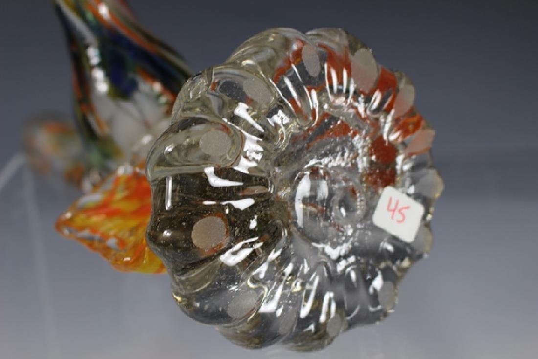 Murano Art Glass Road Runner - 8
