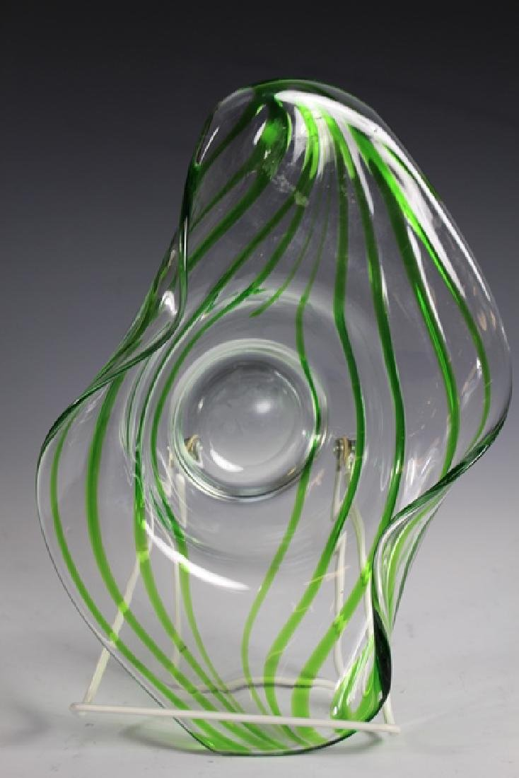 Late 20th Century Studio Art Glass Bowl - 3