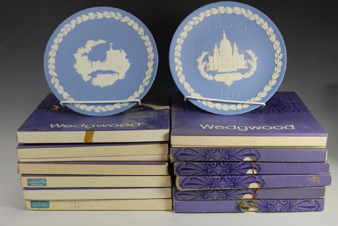 Twelve (12) WEDGWOOD Collectors Plates