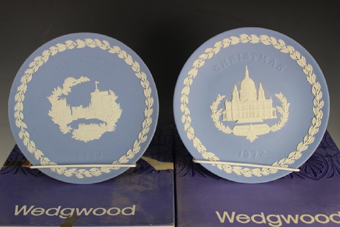 Twelve (12) WEDGWOOD Collectors Plates - 2