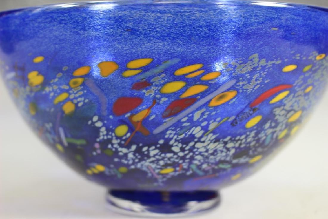 Bertil Vallien (Swedish, b. 1938) Kosta Art Glass Bowl - 2