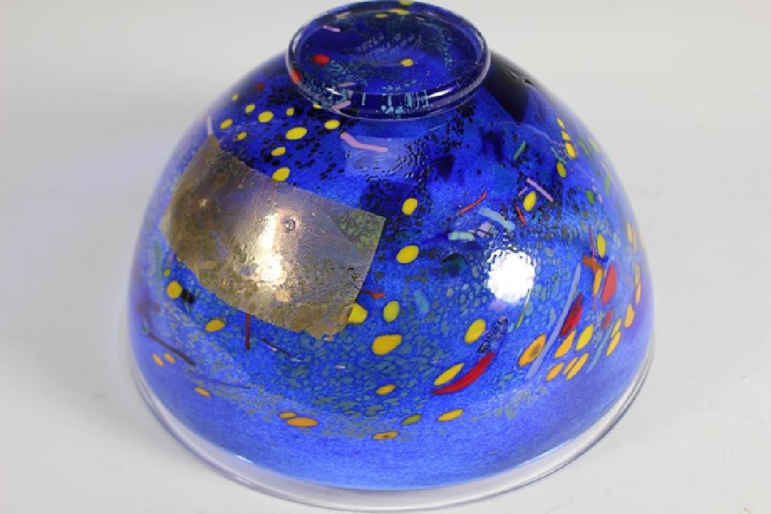 Bertil Vallien (Swedish, b. 1938) Kosta Art Glass Bowl - 3