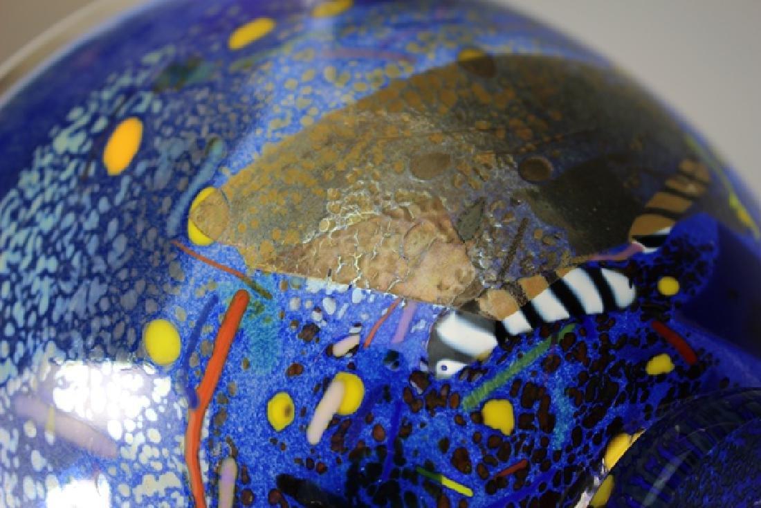 Bertil Vallien (Swedish, b. 1938) Kosta Art Glass Bowl - 5