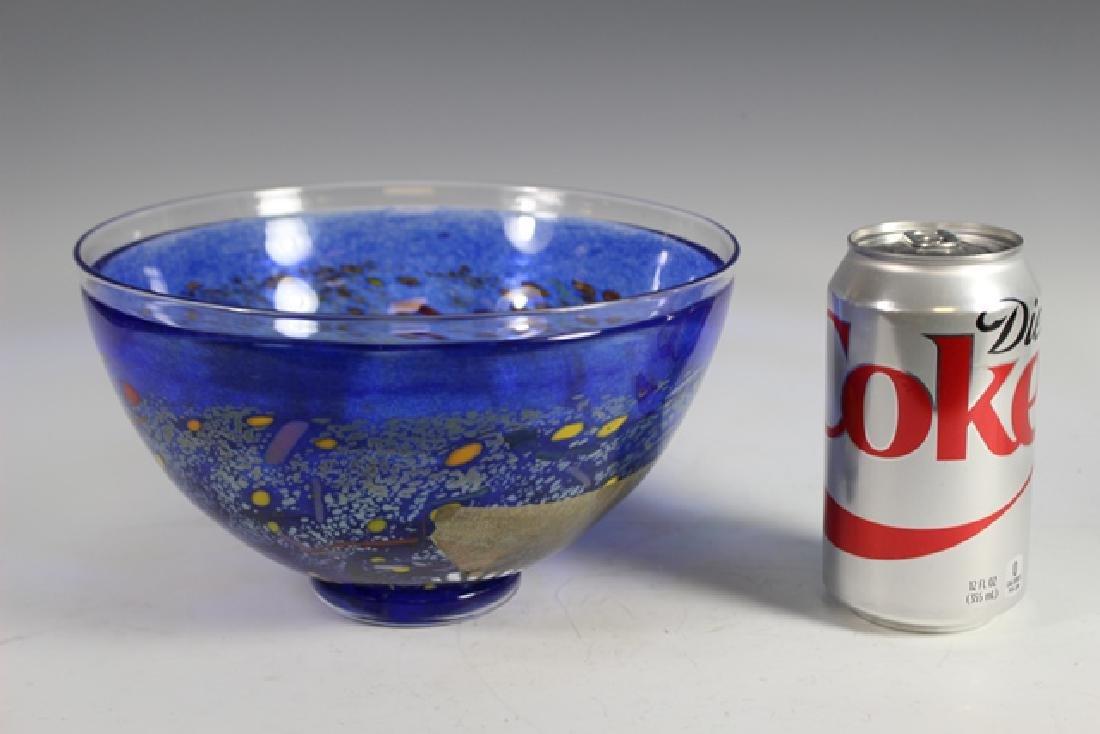 Bertil Vallien (Swedish, b. 1938) Kosta Art Glass Bowl - 7