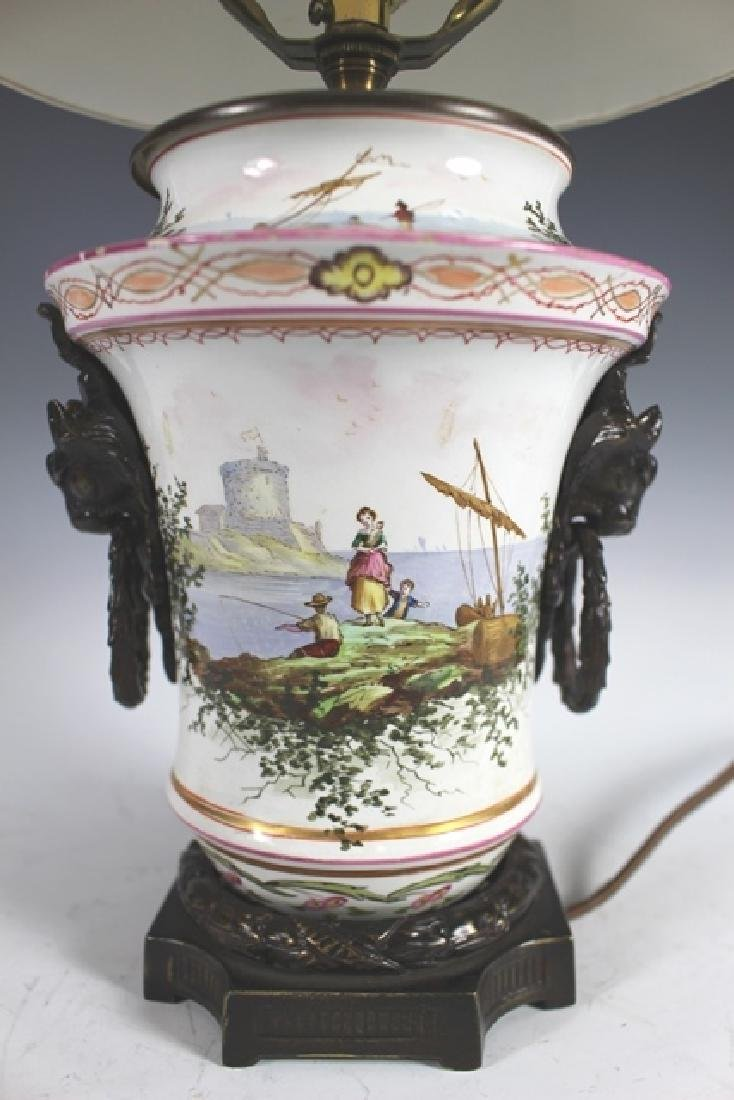 18th Century Porcelain Body Lamp - 2