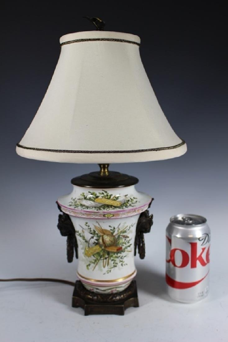 18th Century Porcelain Body Lamp - 9