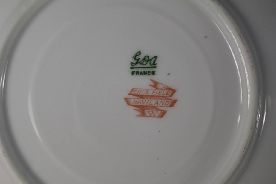 Chas Field Haviland Limoges Service for Eight - 6