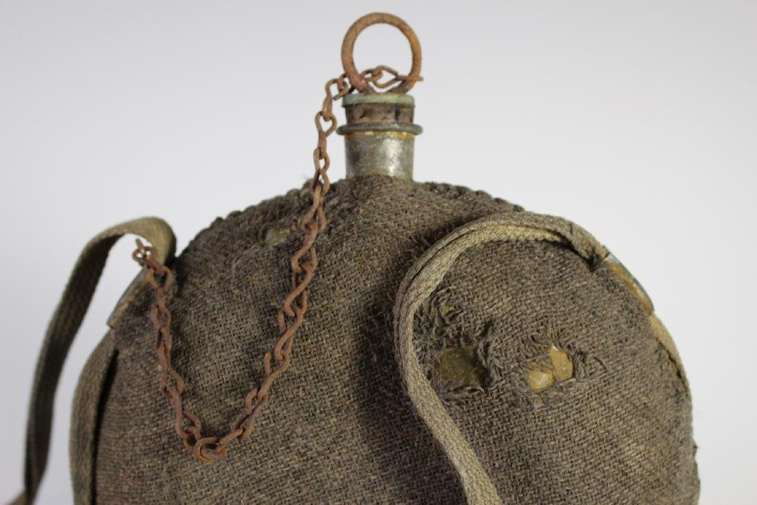 US CIVIL WAR Canteen with Strap - 2