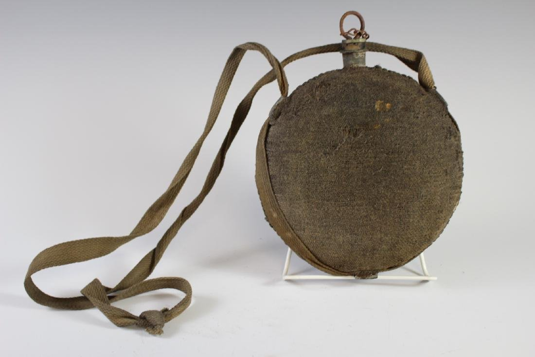 US CIVIL WAR Canteen with Strap - 3