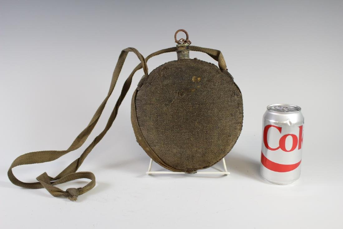 US CIVIL WAR Canteen with Strap - 5