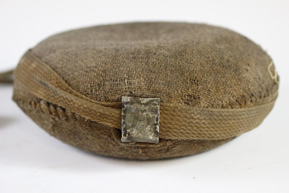 US CIVIL WAR Canteen with Strap - 6