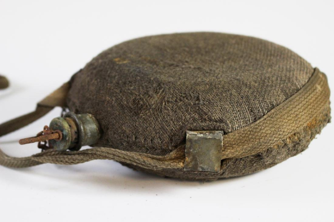 US CIVIL WAR Canteen with Strap - 7