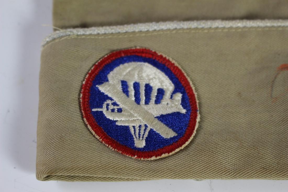 US WWII Paratrooper Overseas Cap - 3