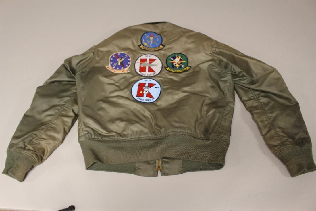 Rare Pilot Flight Jacket Patches Vietnam Era - 3
