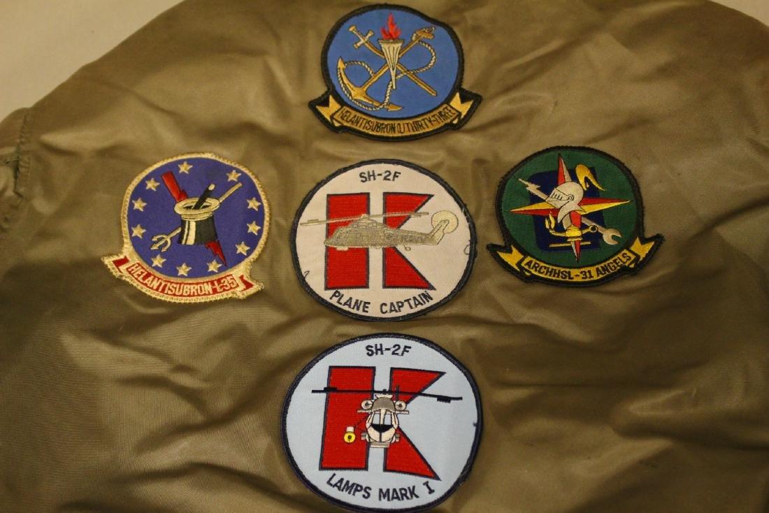 Rare Pilot Flight Jacket Patches Vietnam Era - 4