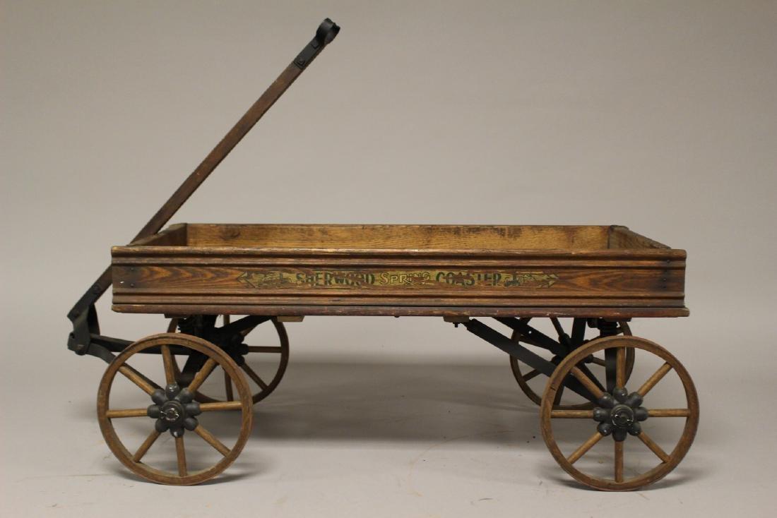 Sherwood Spring Coaster Antique Wagon