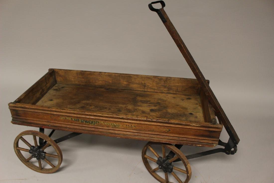 Sherwood Spring Coaster Antique Wagon - 5