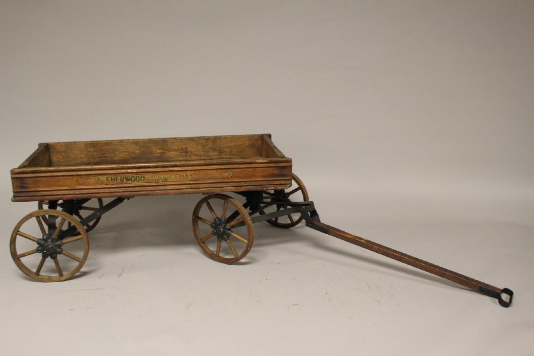 Sherwood Spring Coaster Antique Wagon - 6
