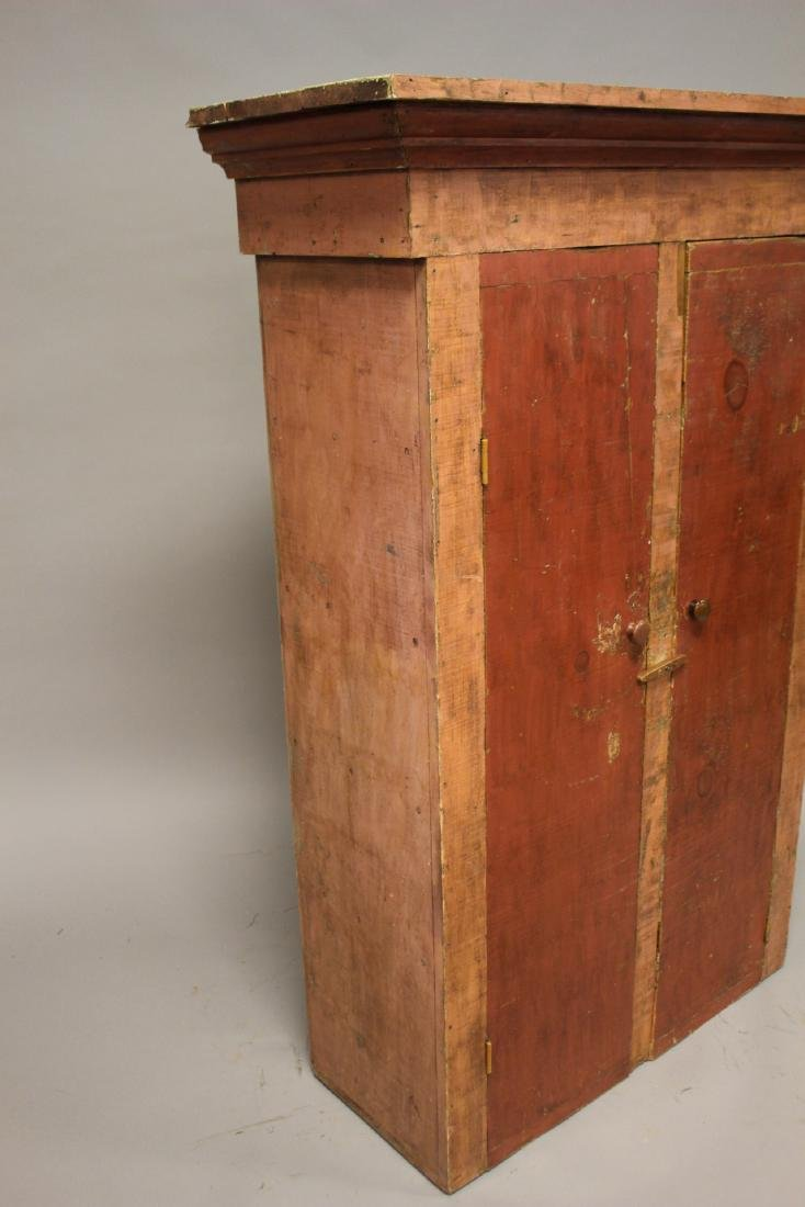 Country Primitive Painted Jelly Cupboard - 6