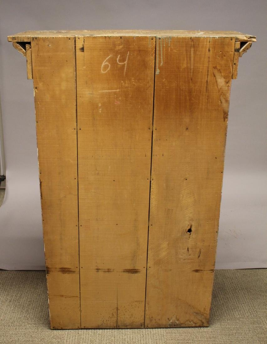 Country Primitive Painted Jelly Cupboard - 9