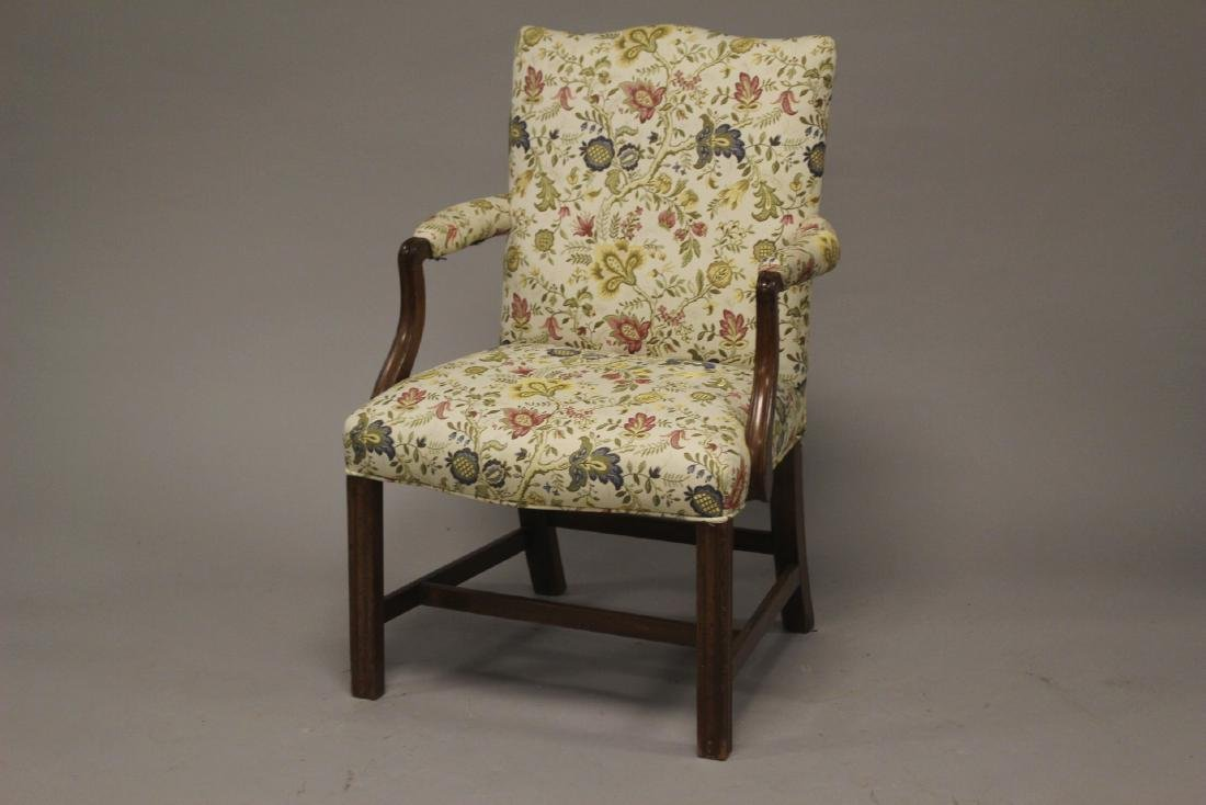 Early 19th Century English Fireside Chair