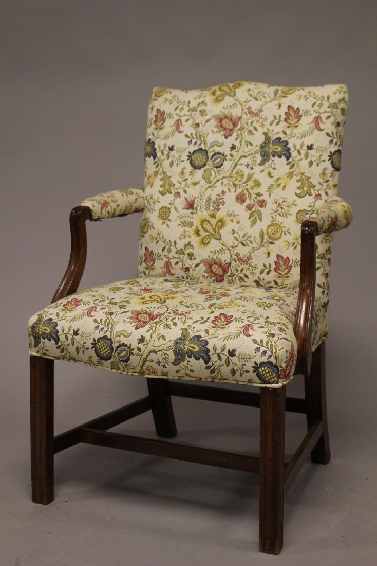 Early 19th Century English Fireside Chair - 2