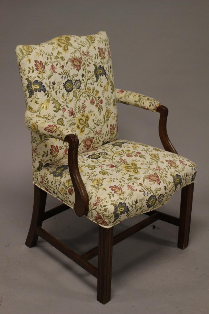 Early 19th Century English Fireside Chair - 3