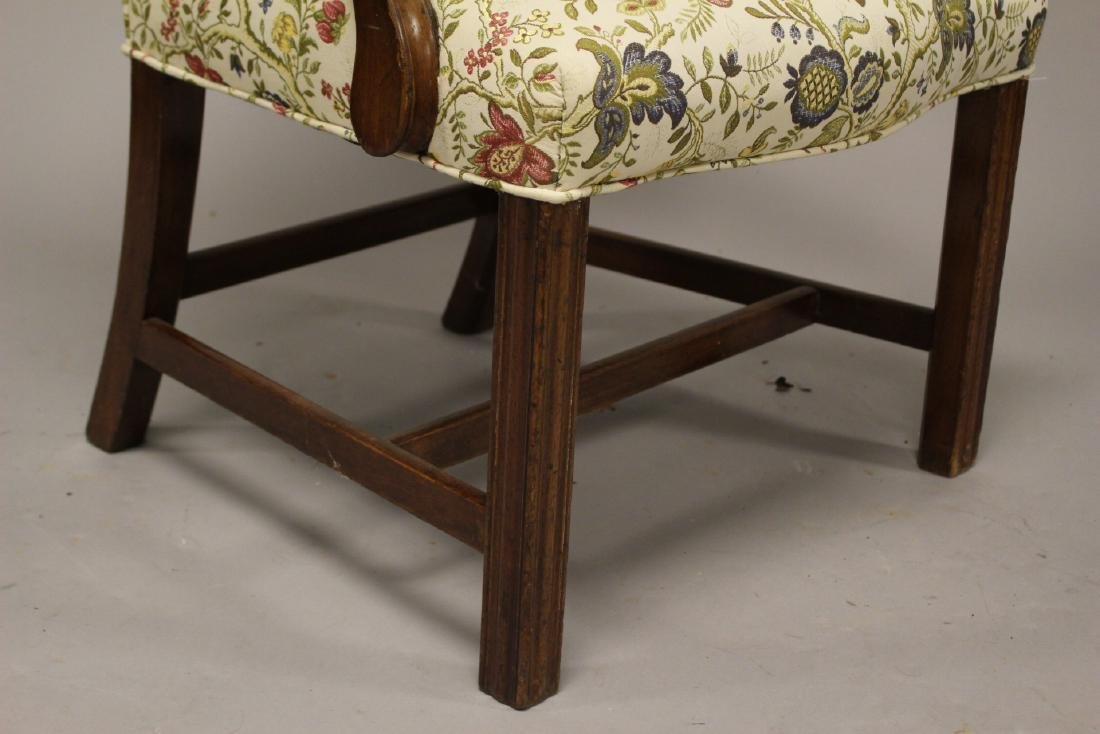 Early 19th Century English Fireside Chair - 4