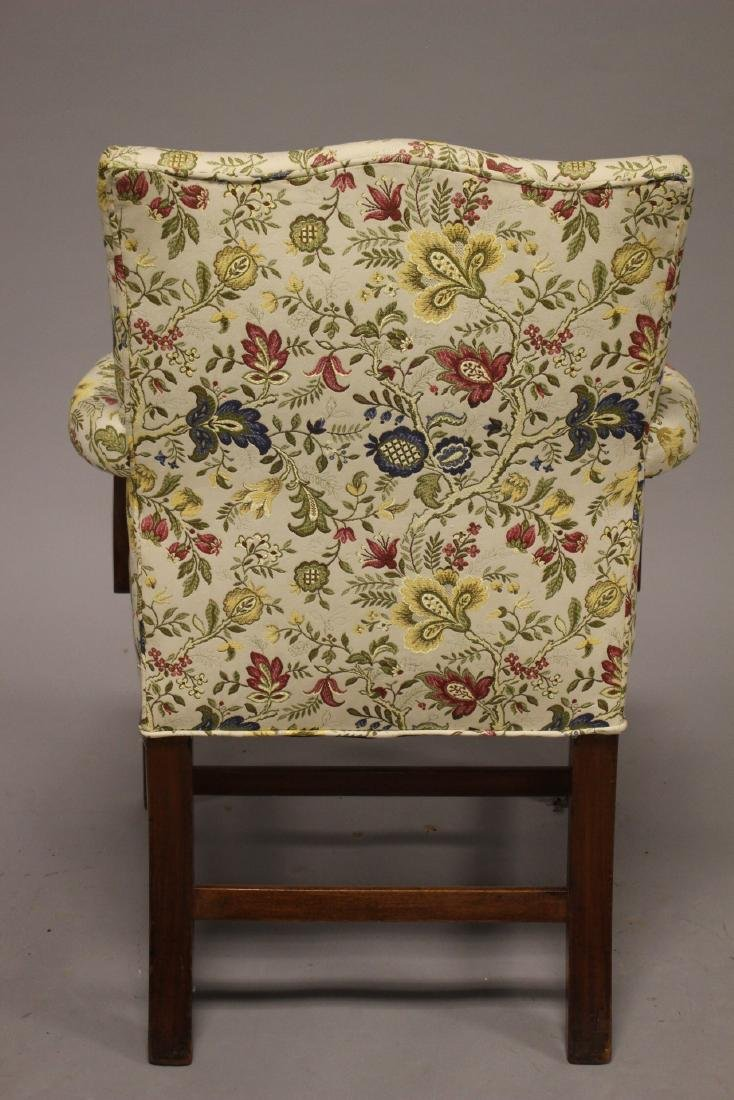 Early 19th Century English Fireside Chair - 7