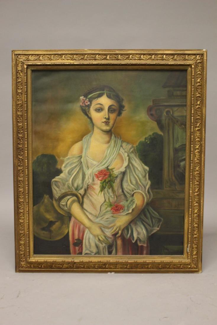 20th Century Oil on Canvas signed Kalinski - 2