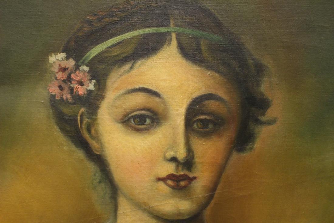 20th Century Oil on Canvas signed Kalinski - 4