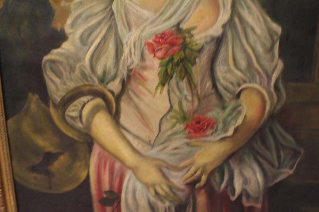 20th Century Oil on Canvas signed Kalinski - 5
