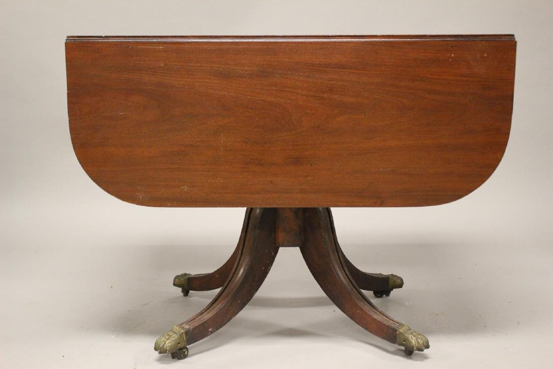 English Drop Side Table - 3